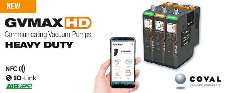 NEW VACUUM PUMPS - GVMAX HD Series