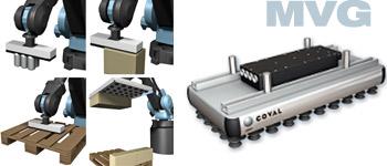 Modular vacuum gripper, MVG series