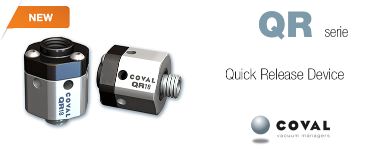 Quick Release Device QR serie - Coval