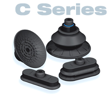 High-performance suction cups for automotive industry C series  COVAL