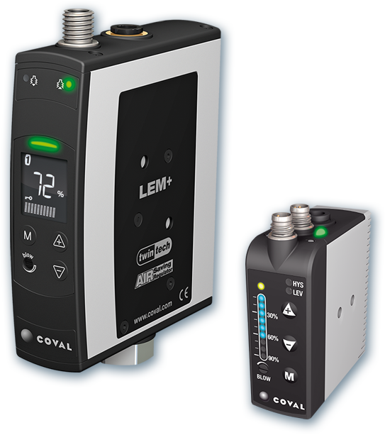Compact, high flow vacuum pump with air saving regulator LEM+ series